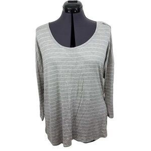 Charming Charlie Blouse Top XL Strappy Criss Cros